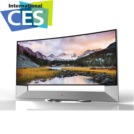 Всички новости при телевизорите на CES 2014