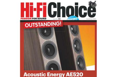 Тонколоните Acoustic Energy AE520 получиха награда от HI-Fi Choice