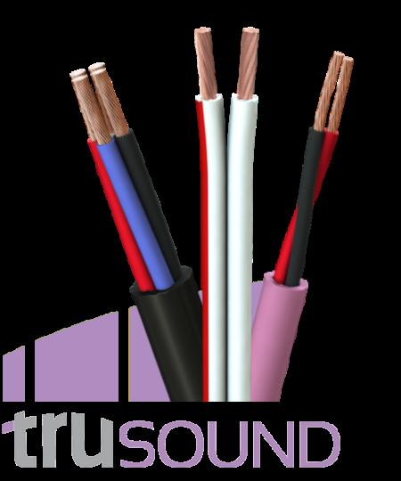Tru 2x1.5mm² OFC Multicore Circular Speaker Cablе